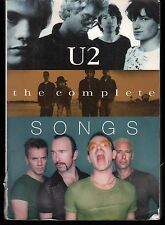 U2 SPARTITO The Complete Songs 9780711974692