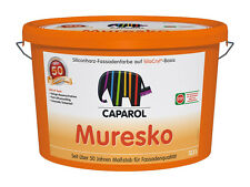 Caparol Muresko SilaCryl Fassadenfarbe - Weiß, 12.5 l