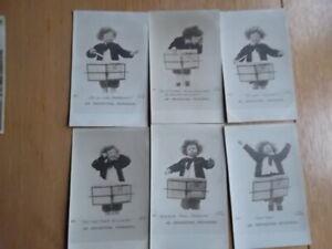 AN ORCHESTRAL REHEARSAL  6 Post-Card Set - J Beagles & Co London