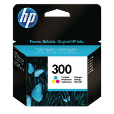 HP 300 Cyan/Magenta/Yellow Inkjet Cartridge CC643EE Envy 100/110/114/120 F4580