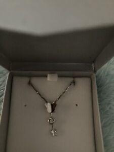 Goldmark sterling silver 925 girls butterfly bling pendant nib