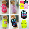 Pet Puppy Small Dog Cat Casual Clothes Vest Sleeveless T-Shirt Apparel Clothes