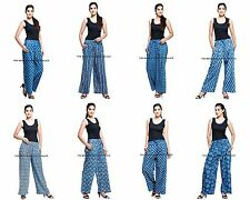 10 Pcs Wholesale Lot Indian Cotton Harem Yoga Pants Women Baggy Genie Plazo Pant
