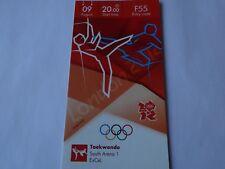 London 2012 Olympic Games TAEKWONDO ticket 9th Aug JADE JONES GB GOLD! *20% OFF*