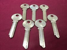 Yale Original VD & VH Keyway, 6 Pin Key Blanks, Set of 7 - Locksmith