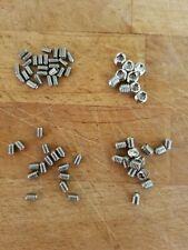 M3, M4, M5, M6 x 5mm Socket Set Grub Screw Cup point (Mixed 40 pack)
