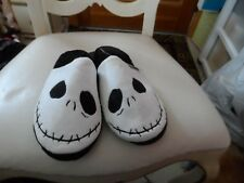 """Ladies black and white House slipper """"NIghtmare before Christmas"""" size S (5-6)"""
