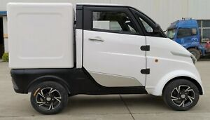 ElektroMobil KabinenRoller ElektroRoller Transporter mini LKW Cargo bis 300Kg!