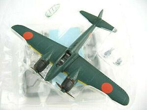 Bandai 1/144 WWII Japanese GEKKO Tyoe 11 Night Fighter Plane  Gashapon  Kit