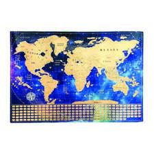 Scratch Off Map of the World & Gift Tube - Relive Your Travel Adventures