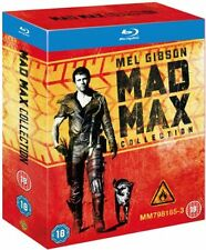 "MAD MAX TRILOGY MEL GIBSON 3 DISC BOX SET BLU-RAY REGION B AUS ""NEW&SEALED"""