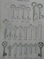 Automatenschlüssel gepreßt Grünig Schlüssel Sicherheitsschlüssel Rohling Börkey