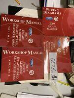 2007 Ford Escape MERCURY Mariner Hybrid Workshop Manual & Wiring Diagrams