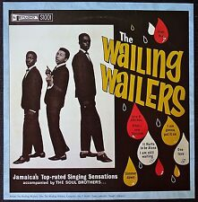 Bob Marley and the Wailers - The Wailing Wailers - Vintage Album Cover Poster