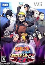 Used Wii Naruto Shippuuden EX 3 Nintendo JAPAN JP JAPANESE JAPONAIS IMPORT