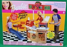 Barbie Pizza Hut Restaurant Playset  Mattel; New, Sealed, NRFB