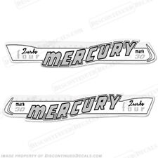 Mercury 1957 30hp Mark 30 Outboard Decal Kit - Non-Electric Reproduction Decals
