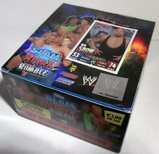 Slam ATTAX/WWE/Rumble/1 display = 50 cartocci/TRADING CARDS/Nuovo/Scatola Originale