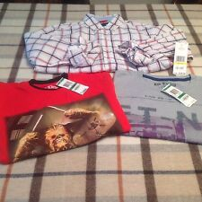 Mix lot of new boy's Epic Threads t-shirts L and Tommy Hilfiger long sleeve M