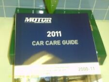 2011 Motor Car Care Guide + Coupon