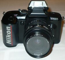 NIKON N5005 35mm SLR FILM CAMERA (NOT WORKING) with 35-70mm LENSE