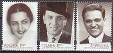 POLAND 2012 **MNH SC#  The People of Cinemas and Theater