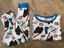 Star Wars Legos Pajamas Set Boys Top Bottoms Long Pants 8 *Read*