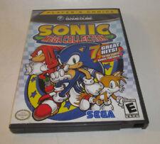 Sonic Mega Collection (Nintendo GameCube, 2002) Complete CIB Player's Choice VGC