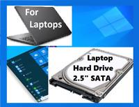 "320GB 2.5"" Laptop Hard Drive Sata  WIN 10 Pro 64 . Office_2016 P-Shop CS5 yz"