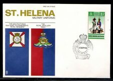 St. Helena 66th Foot Military Uniforms First Day Cover