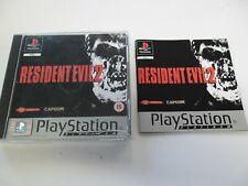 PS1 GAME - RESIDENT EVIL 2 - complete 2 DISC - RESIDENTEVIL TWO