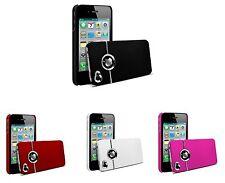 Pour Iphone 4 4s Etui Silver Line Serie Couleur au choix + Film De Protection