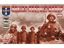 Orion 1/72nd Plastic WWII Soviet Russian Assault Group Soldiers Set 72048 New!