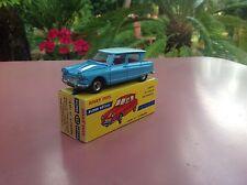 Dinky Toys Citroen Ami 6  Ref 557 rare bleu vif very near Mint original box