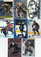 PAVEL BURE  a lot of 8 DIFFERENTS CARDS INSERTS  LOT 76    near mint    a