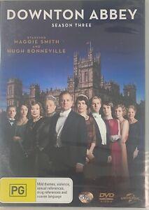 Downton Abbey Season 3 DVD R4 PAL Brand New Sealed Sent Tracked