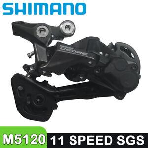SHIMANO DEORE RD M5120 MTB Rear Derailleur SGS Long Cage 10S 11 Speed MTB Bike