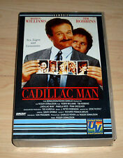 VHS - Cadillac Man - Robin Williams - Tim Robbins - Komödie - Videokassette