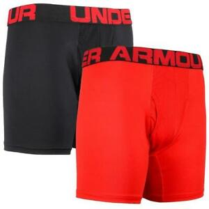 NEW Under Armour Men's Original Series 6-inch Boxerjock Boxer Briefs- 2 Pack