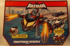 Batman The Brave & The Bold Animated Series Transforming Batmobile To Batplane