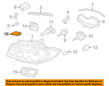 BMW OEM 12-13 128i-Headlight Headlamp Bulb Cap Cover Right 63117046374