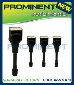 4pc Ignition Coils Replacement for Nissan vehicles Infiniti FX50 UF549