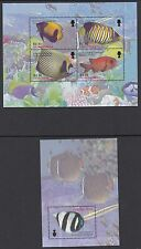 MONTSERRAT :2004 Fishes sheetlet +M/Sheet SGMS1259 +MS1260 MNH