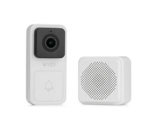 3pk NEW Sealed SOLD OUT WYZE Labs Video Doorbell Camera Wired Doorbell w/Chime
