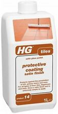 HG HAGESAN FLOOR TILES SATIN GLOSS POLISH PROTECTIVE COATING 1 LITRE