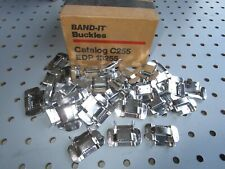"(30) Band-It C255 5/8"" Buckles Steel Banding Buckles New Old Stock"