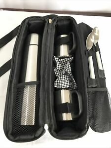 Picnic at Ascot Vienna Coffee /Tea Picnic Tote for Two * Stainless Steel