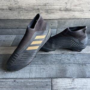 adidas predator Gold & Black Football Boots - Size 8.5 UK