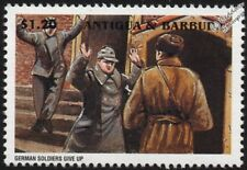WWII 1945 Battle of Berlin - German Army Soldiers Surrender Stamp