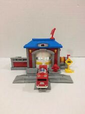 Fisher-Price GeoTrax Fire Station and Truck Fast Response Rescue Co.